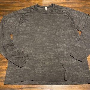 Lululemon men's metal vent tech camo long shirt